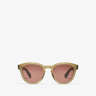 Oliver Peoples Cary Grant Sun (Dusty Olive) Fashion Sunglasses