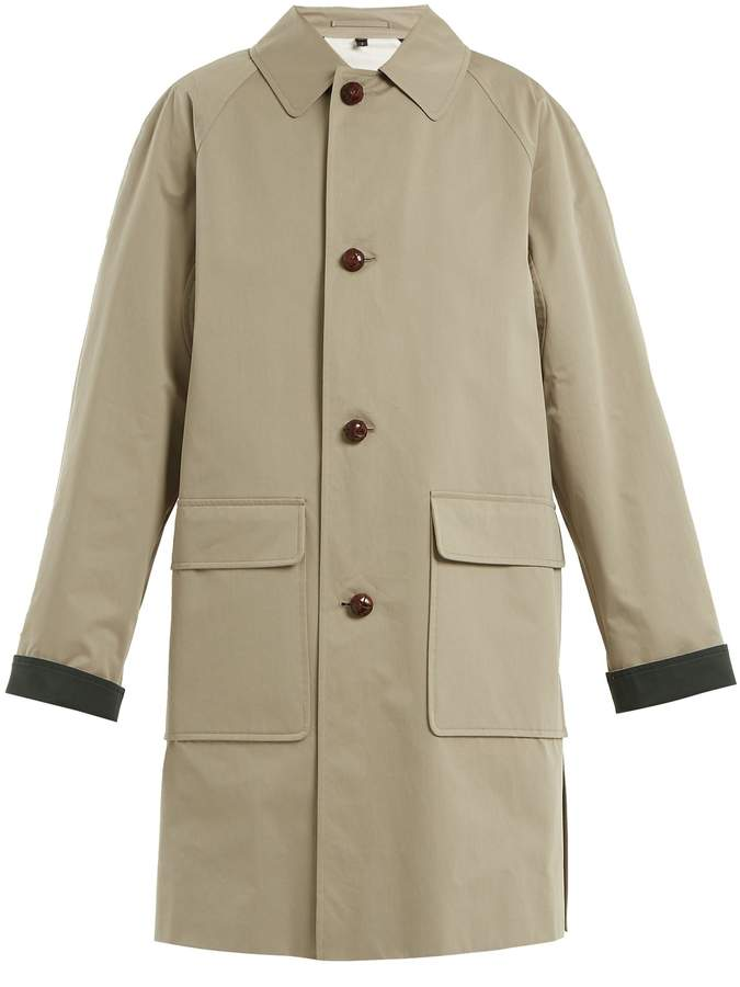 Burberry Unisex padded cotton trench coat