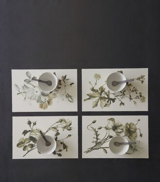 Chilewich Sepia Plants Placemat (Set of 4)