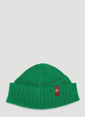 Gucci Logo Patch Beanie