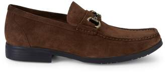 Kenneth Cole New York Design 111422 Suede Buckle Loafers
