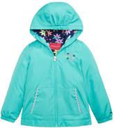London Fog Floral-Lined Jacket, Little Girls
