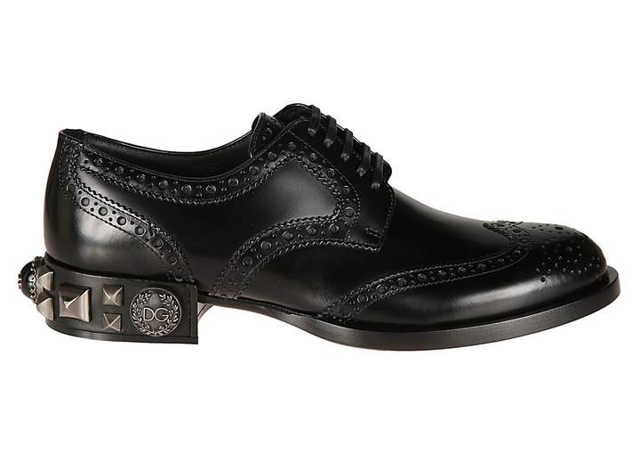 Dolce & Gabbana Studded Oxford Shoes