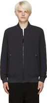 Isaora Ssense Exclusive Reversible Grey Bomber Jacket