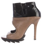 Camilla Skovgaard Cutout Leather Ankle Boots
