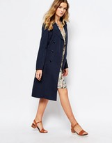 First & I Trench Coat