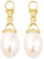 Jude Frances 18k Lattice Pearl & Diamond Earring Pendants