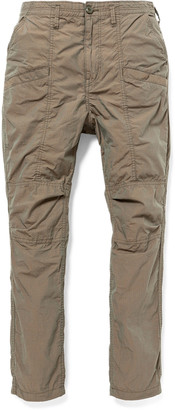 Nonnative Educator Slim-Fit Cotton-Ripstop Trousers