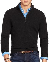 Polo Ralph Lauren Cashmere Half Zip Sweater