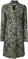 Lanvin jacquard coat - women - Cotton/Polyamide/Polyester/Viscose - 38