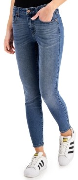 KENDALL + KYLIE Juniors' Mid-Rise Skinny Ankle Jeans