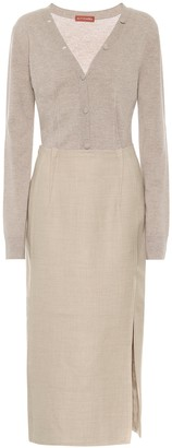 Altuzarra Arlene wool midi dress