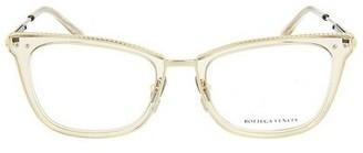 Bottega Veneta Novelty 52MM Square Optical Glasses