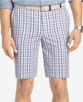 "Izod Men's 10.5"" Portsmith Plaid Shorts"