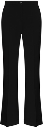See by Chloe High-Rise Flared Trousers