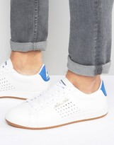 Le Coq Sportif Arthur Ashe Gum Sneakers In White 1620173