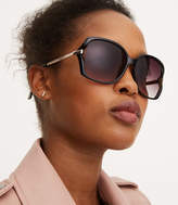LOFT Vented Square Sunglasses