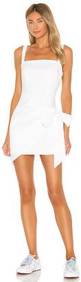 superdown Macie Wrap Mini Dress