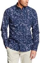 Perry Ellis Men's Fantastic Camo Long Sleeve Casual Shirt