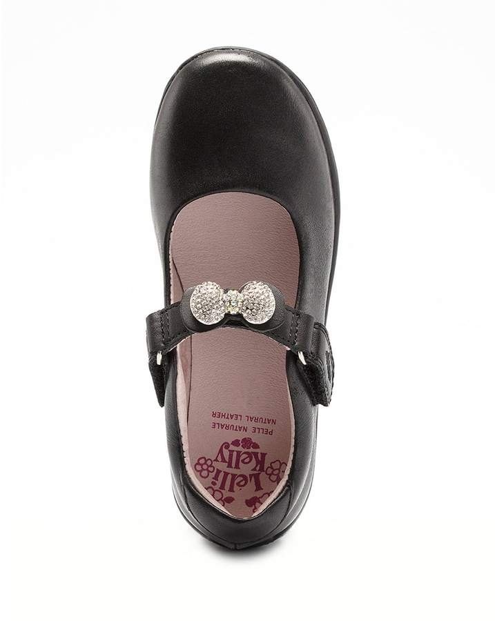 Shoe Girls Black Interchangeable School Strap Mandy byYf76gv