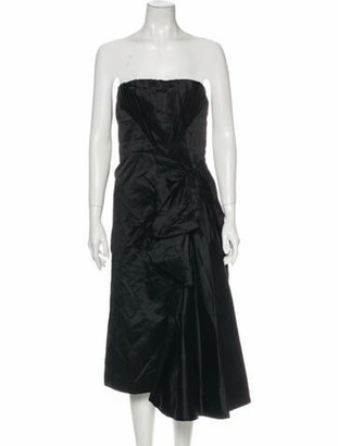 Prada 2007 Knee-Length Dress Black