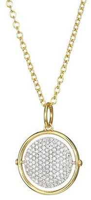 Phillips House Affair 14K Yellow Gold & Diamond Infinity Spinner Necklace