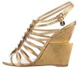 Saint Laurent Trybal 105 Wedge Sandals