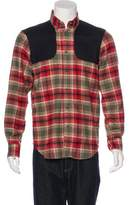 Adam Kimmel Plaid Flannel Shirt