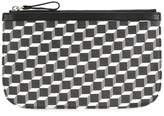 Pierre Hardy cube print clutch bag
