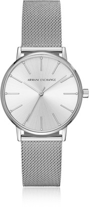 Armani Exchange Lola Stainless Steel Mesh Women's Watch