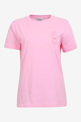 Baum und Pferdgarten Jolee Begonia Pink Tee - organic cotton   pink   Sz L - Pink/Pink
