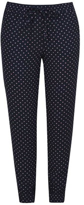 Jack Wills Chillworth Viscose Crepe Slouchy Pant