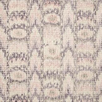 """Loloi Rugs Tatum Area Rug by Loloi, Blush/Raisin, 2'6""""x7'6"""""""