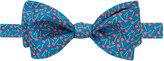 Thomas Pink Cherry Print 'Self Tie' Bow Tie