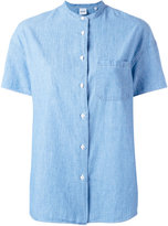 Aspesi collarless shirt - women - Cotton - 38