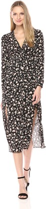 Bardot Women's Floral Split Dress Large