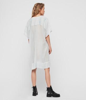 AllSaints Isme Tie Dye Dress
