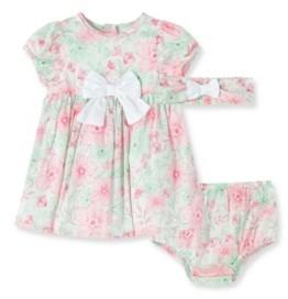 Little Me Baby Girl Flourish Dress with Panty