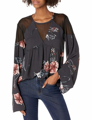 Somedays Lovin Women's Homecoming Floral Print Blouse