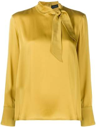 Roberto Collina neck-tied blouse