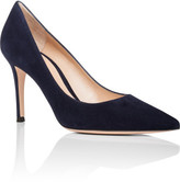 Gianvito Rossi Simple Pump 105mm Suede