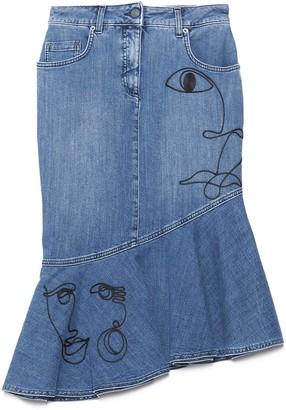 Moschino picasso Skirt