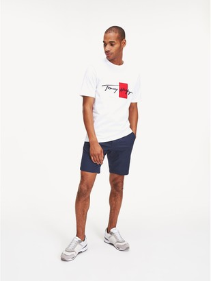 Tommy Hilfiger Relaxed Fit Organic Cotton Signature T-Shirt