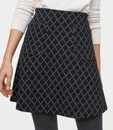 LOFT Diamond Pocket Flippy Skirt