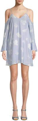Endless Rose Cold-Shoulder Shift Dress