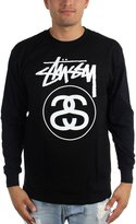 Stussy Mens Stock Link Long Sleeve T-Shirt