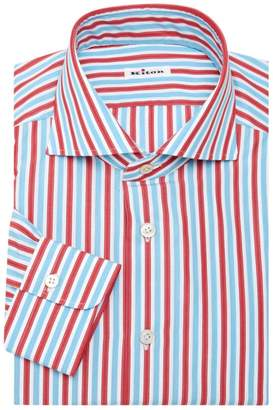 Kiton Stripe Dress Shirt