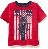 Old Navy July 4th Graphic Tee for Toddler Boys