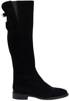 Dolce & Gabbana \N Black Velvet Boots