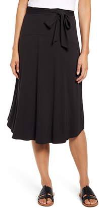 Tommy Bahama Solid Midi Skirt
